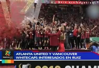 Atlanta United y Vancouver Whitecaps interesados en Ruiz