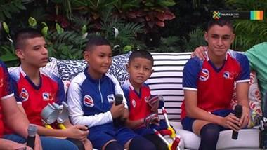 Jóvenes representarán a Costa Rica en campamento de fútbol para amputados en Alemania