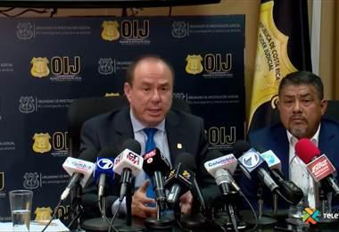 Conferencia de prensa OIJ
