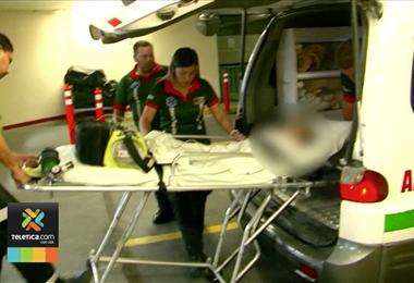 Niña que resultó herida de bala anoche en Purral de Goicoechea sufrió una fractura en su pierna