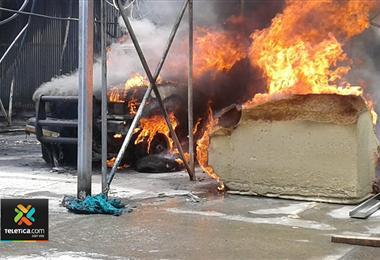 Incendio en Palmares
