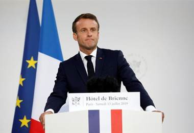 Emmanuel Macron, Presidente de Francia. Foto AFP