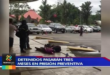 Fiscalía solicitó prisión preventiva contra sospechosos detenidos por el delito de motín