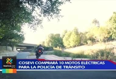 El consejo de seguridad vial invertirá más de 200 millones de colones en la compra de motocicletas eléctricas para la policía de tránsito.