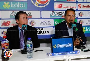 Julián Solano y Rodolfo Villalobos | Prensa Fedefútbol