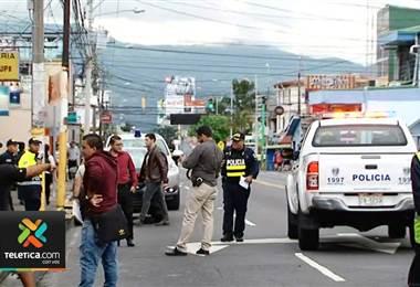 Oficial de Tránsito frustró un asalto en la sucursal de Correos de Costa Rica en Guadalupe