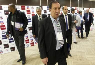 Carlos Bilardo, extécnico de Argentina | AFP