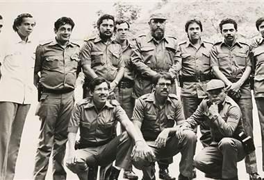 Los 9 comandantes de la Revolución Sandinista de Nicaragua. Foto: Cortesía