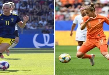 Suecia ante Holanda | AFP