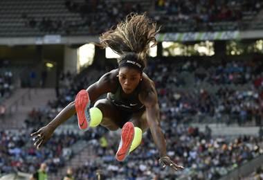 Caterin Ibargüen, atleta colombiana | AFP