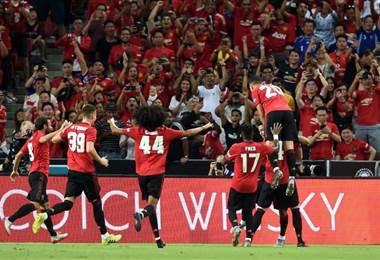 Manchester United derrotó al Inter de Milan en un amistoso   ManU en Twitter
