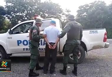 Policía de Fronteras detuvo a nicaragüense sospechoso de tráfico de personas