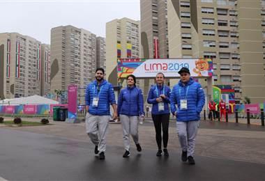 Este es el hogar de los ticos en Lima 2019