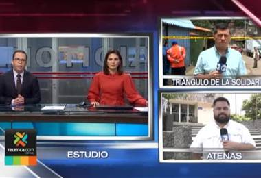 Autoridades realizan este lunes un desalojo de viviendas en el Triángulo de Solidaridad en Tibás
