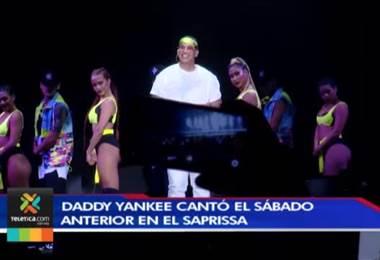 Daddy Yankee puso a bailar a miles de ticos en el Ricardo Saprissa
