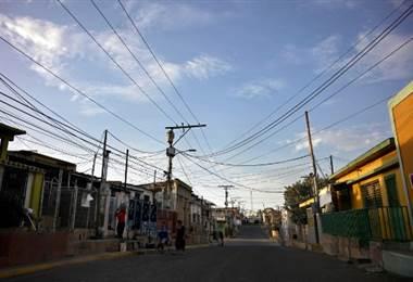 Apagón en Venezuela. Foto AFP