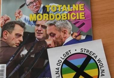 Semanario polaco Gazeta Polska. Foto AFP