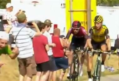 Tony Martin y Luke Rowe, expulsados del Tour tras un altercado