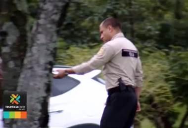 OIJ inspeccionó sitio donde ocurrió accidente múltiple en La Sabana sobre ruta 27
