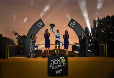 Egan Bernal Tour de Francia