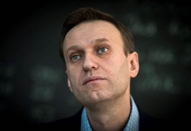 Opositor al Kremlin, Alexéi Navalni. Foto AFP