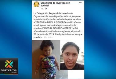 OIJ necesita ubicar a tres niños que fueron sustraídos en las últimas horas