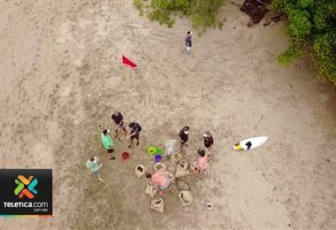 Varios países se unieron para limpiar playas gracias a una iniciativa que nació en Costa Rica