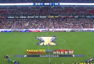 Jamaica 1 - 3 Estados Unidos