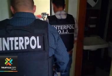 Interpol Costa Rica detuvo a colombiano requerido por la justicia de EE.UU. por tráfico de drogas