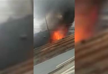 Incendio en Hatillo