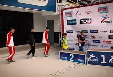 Niño de Santa Cruz ganó los juegos nacionales
