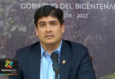 Presidente Alvarado descarta a Leonardo Garnier y Ana Elena Chacón para nuevo jerarca de educación