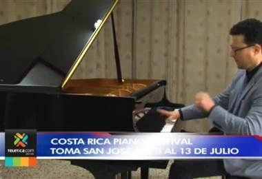 Festival dedicado al piano se realizará en Costa Rica a partir de la próxima semana