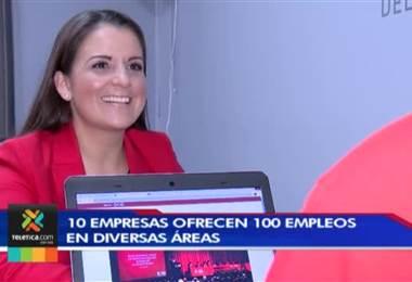 10 empresas ofrecen 100 puestos de trabajo en diversas áreas