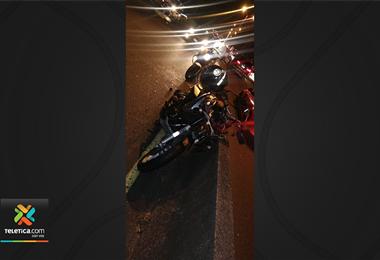 Accidente en la autopista General Cañas deja una persona fallecida y otra herida