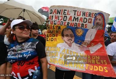 Clamor a Daniel Ortega
