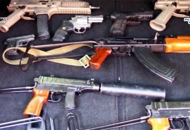 Armas incautadas por la Policía Española. Foto: El Mundo