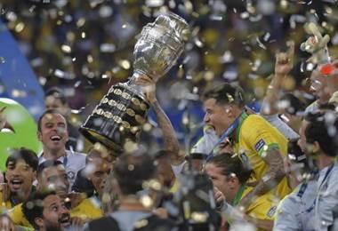 Brasil se coronó campeón de la Copa América 2019 | AFP