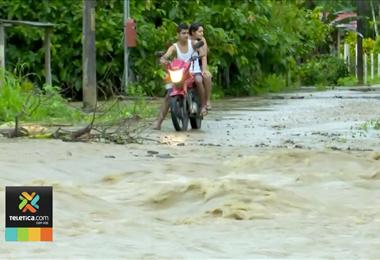 Al menos 400 casas y más de 100 negocios afectados dejan las últimas lluvias en Upala