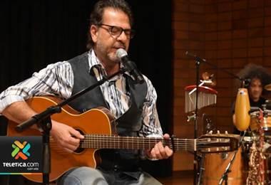 Cantante Luis Ángel Castro se prepara para su concierto del próximo 18 de julio