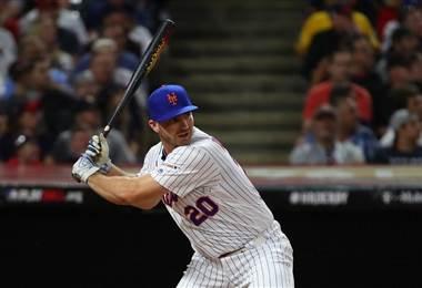 Pete Alonso, bateador de los Mets de Nueva York | AFP