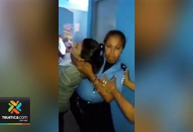 ideo muestra detención de abogada de la Comisión Permanente de Derechos Humanos en Nicaragua