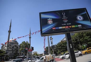 Estambul está lista para albergar la Supercopa de Europa  AFP