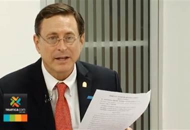 Román Macaya, presidente de la CCSS
