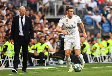 Zidane Gareth Bale Real Madrid 2019 - AFP