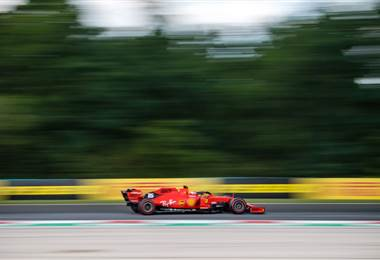 Charles Leclerc, piloto de Ferrari | AFP