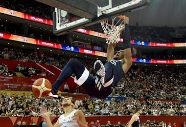 Estados Unidos tuvo un debut tranquilo en el Mundial de Baloncesto | AFP
