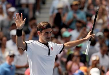 Roger Federer sigue avanzando en el US Open | US Open en Twitter