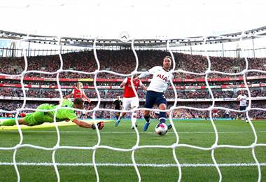 Tottenham empató ante Arsenal | Tottenham en Twitter