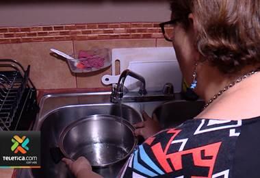 AyA continúa con racionamientos de agua en el Área Metropolitana
